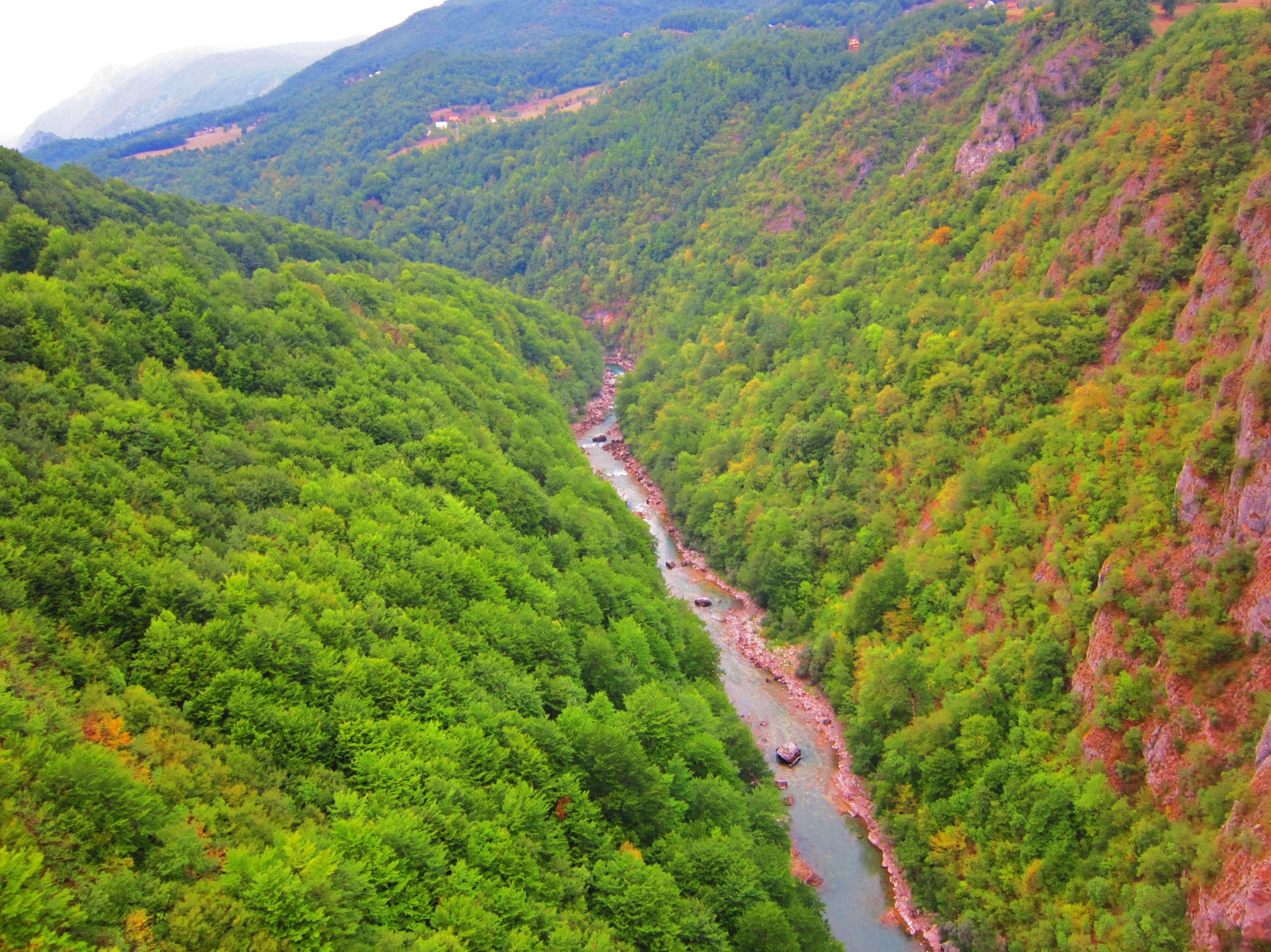 Imagini pentru canionul raului tara