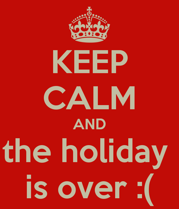 holiday-is-over