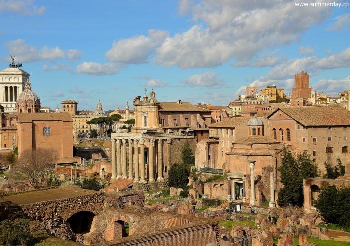 panorama-foro-romano